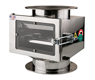 Magnetic separator with telescopic grates MSV – Classic