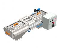 Double-sided magnetic separator MSV PO EKO