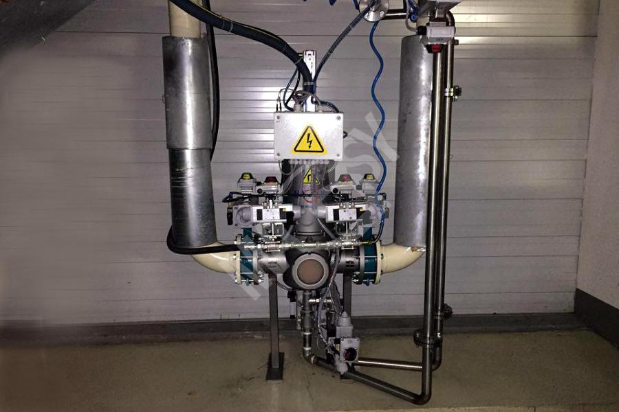 Flow-type magnetic separator MF FAC