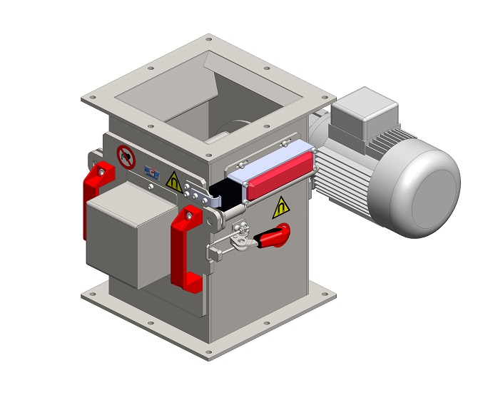 Rotational magnetic separator MSVR - EKO