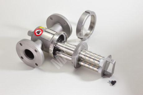 Flow-type magnetic separator MF - EKO