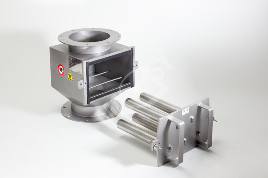 Magnetic separator with telescopic grates MSV - EKO