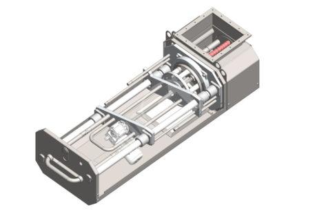 Rotational magnetic separator MSVR Standard – UP