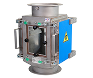 Plate-type magnetic separator MSP / Magnetic lantern